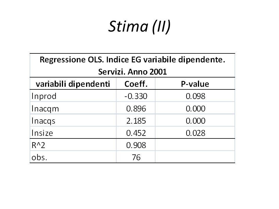 Stima (II)