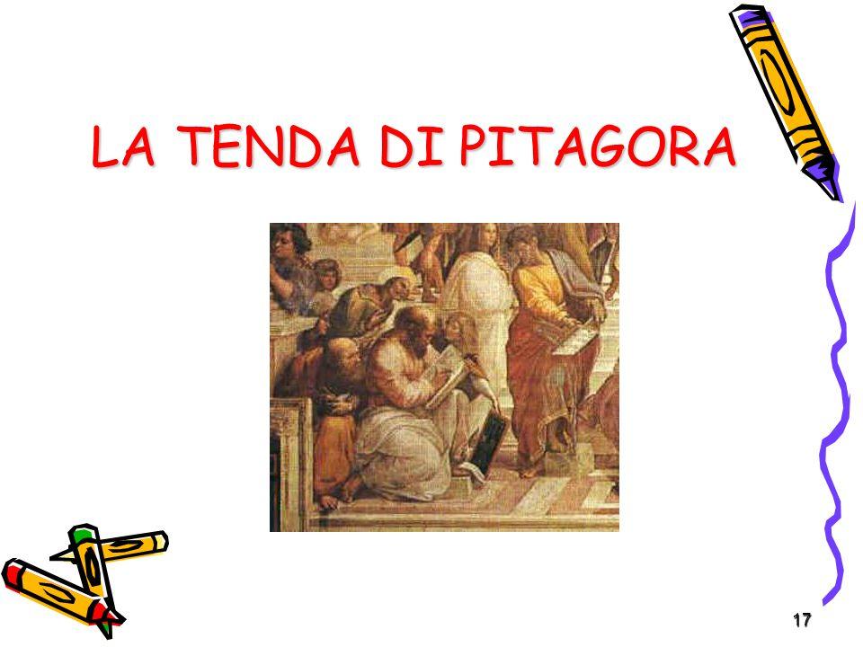 17 LA TENDA DI PITAGORA