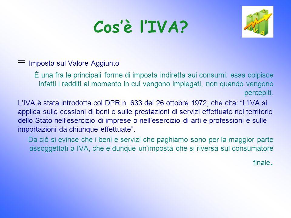 I presupposti IVA Affinché unoperazione sia assoggettabile a IVA, è necessario che ne rispetti tutti e tre i presupposti: 1.