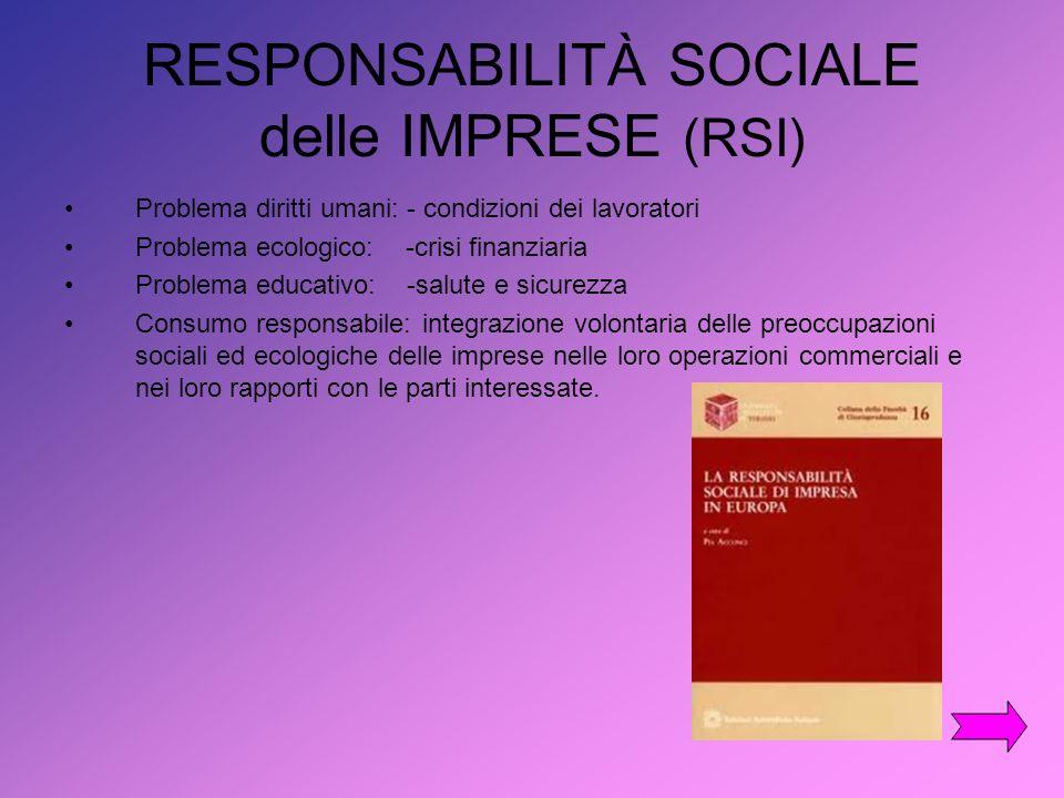 Gestire Rischi Sociali ed Ambientali Migliorare gli standard di lavoro riducendo danni a persone, processi e prodotti.