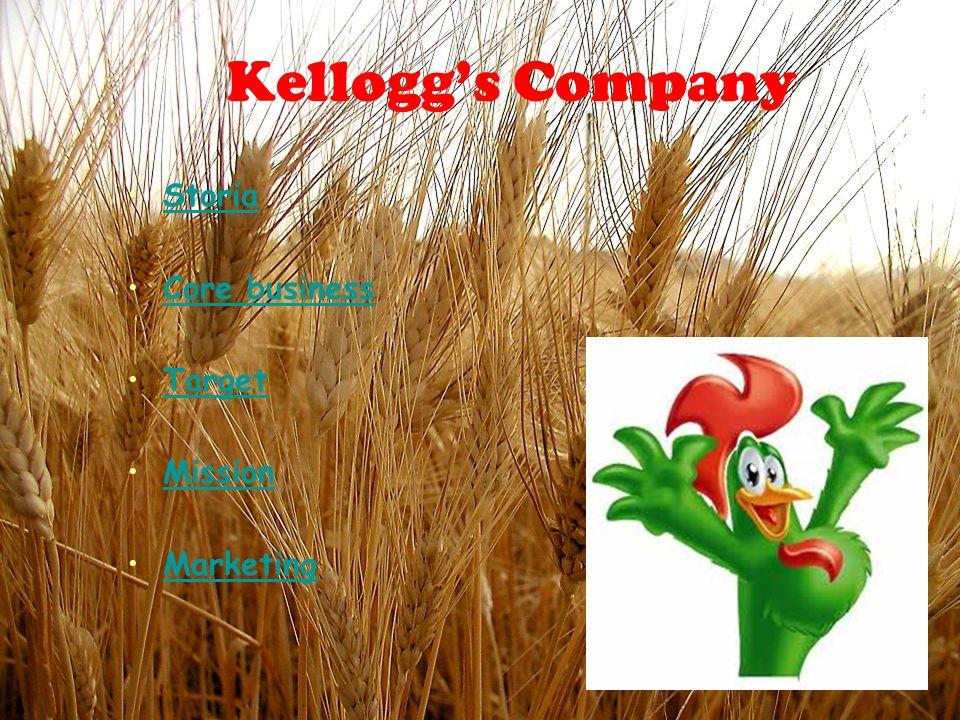 STORIA 1886 = invenzione dei fiocchi di cereali da parte dei fratelli americani Kellogg: lasciarono per caso uninfornata di cereali allaria aperta per un giorno.