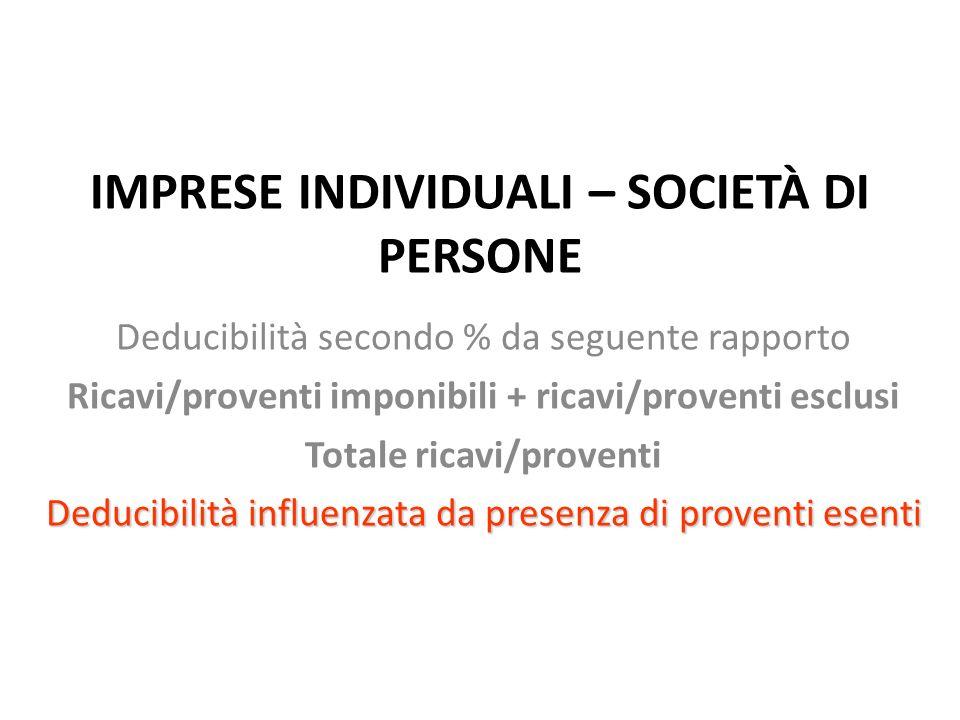 Decorrenza: 2008 Gli interessi non dedotti in un esercizio possono essere dedotti in esercizi successivi se il 30% del R.O.L.