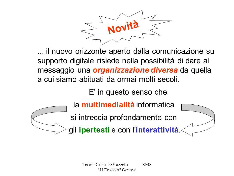 Teresa Cristina Guizzetti SMS U.Foscolo Genova...