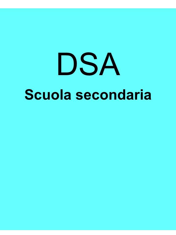 Riccarda Dell'Oro DSA Scuola secondaria