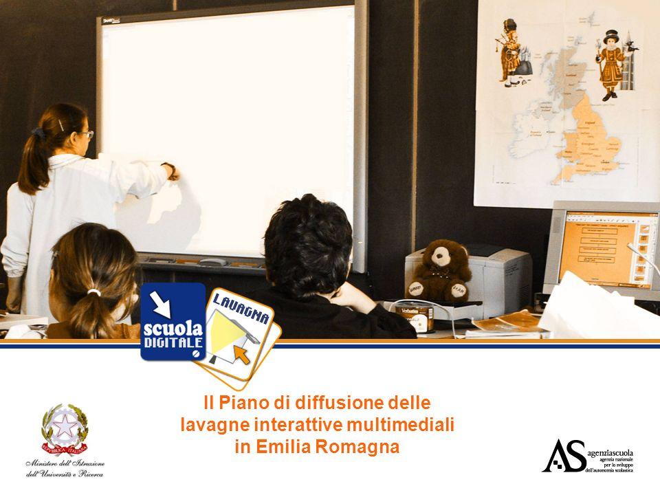 Il Piano di diffusione delle lavagne interattive multimediali in Emilia Romagna