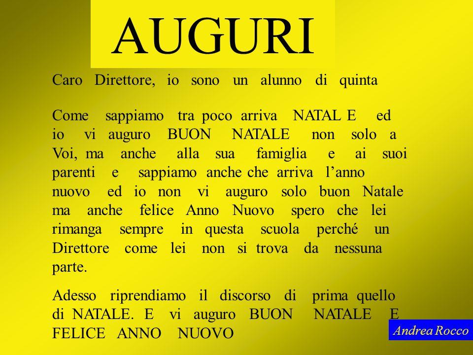 BUON NATALE Andrea Rocco