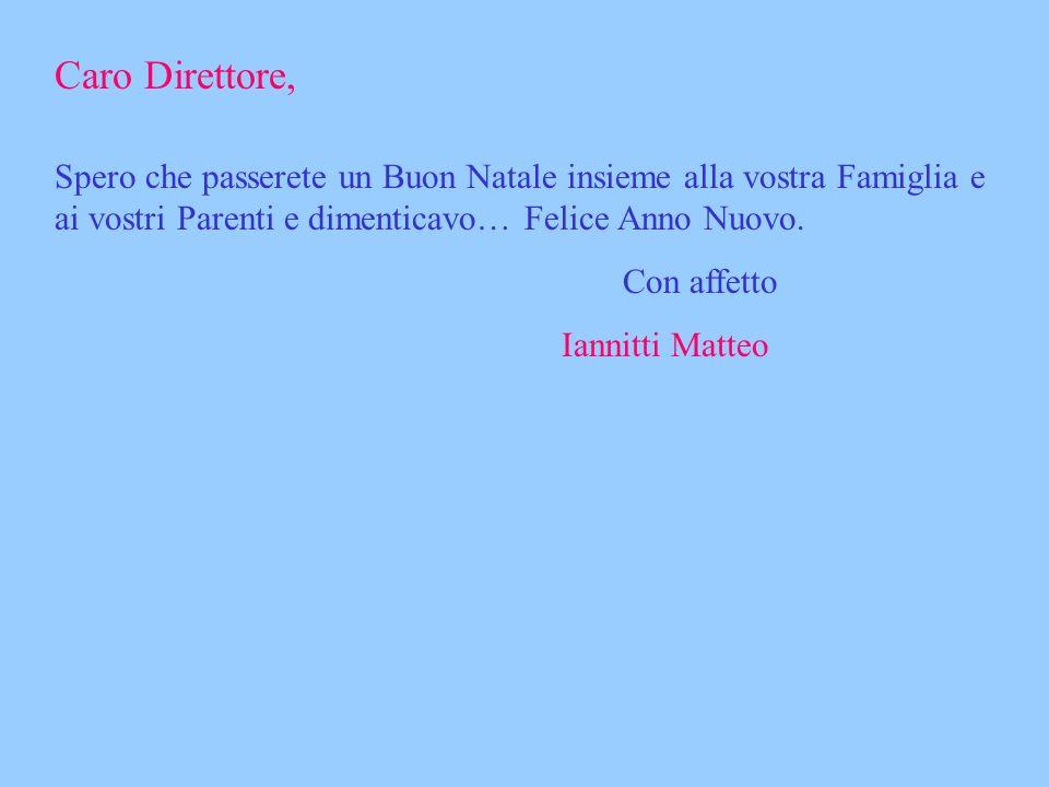 Buon Natale Iannitti Matteo