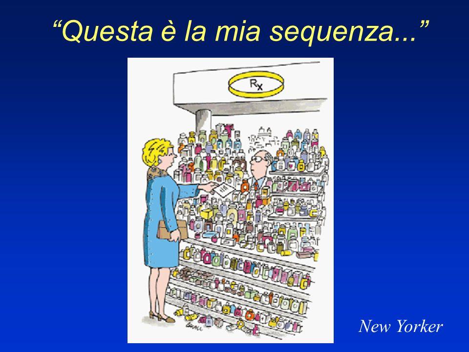 Questa è la mia sequenza... New Yorker