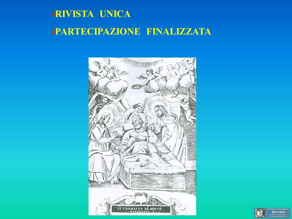 RIVISTA UNICA PARTECIPAZIONE FINALIZZATA