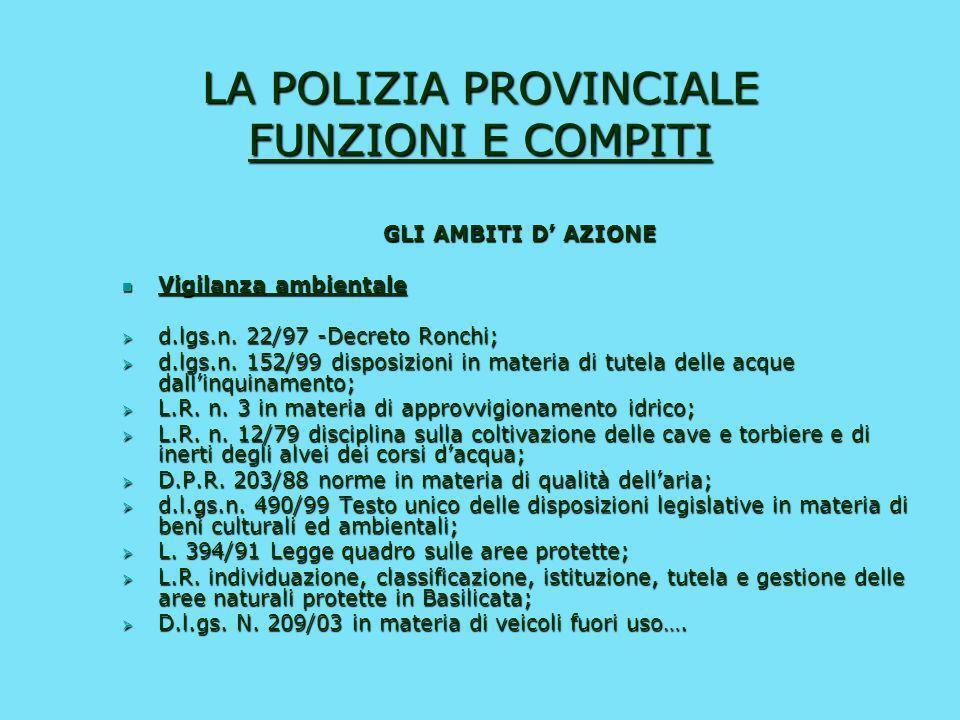 LA POLIZIA LOCALE FUNZIONI E COMPITI Art. 12 C.d.S. (dopo la riforma …) Lespletamento dei servizi di Polizia stradale spetta: a) In via principale all
