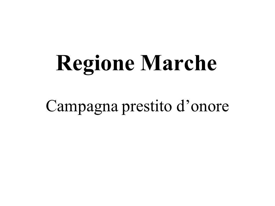 Campagna prestito donore Regione Marche