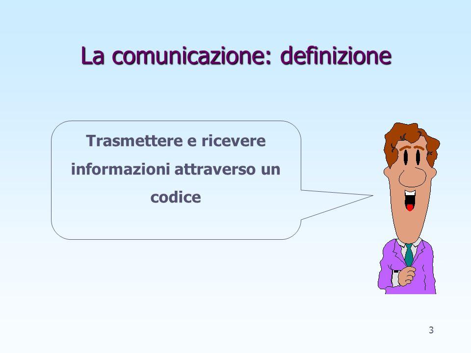 I principi della comunicazione I unità 2