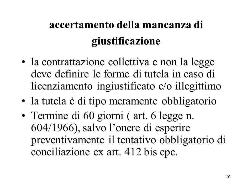 27 Diritto alla reintegrazione autorevole dottrina ritiene che la previsione dellart.