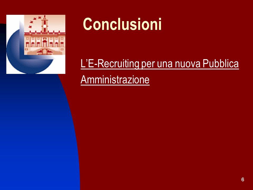 17 Prospettive di realizzabilità del Concorso On Line: il III Step di automazione per lavvio On Line della procedura La normativa applicabile: il DPR 445/2000 Art.