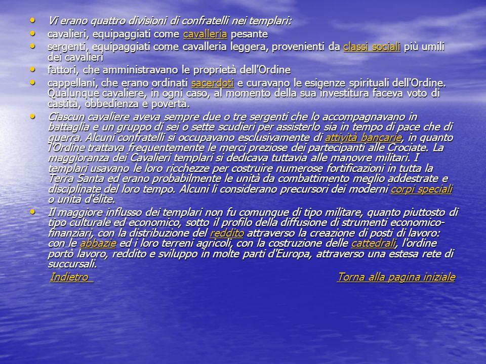 Origini « Nello stesso anno (1118), alcuni nobili cavalieri, pieni di devozione per Dio, religiosi e timorati di Dio, rimettendosi nelle mani del signore patriarca per servire Cristo, professarono di voler vivere perpetuamente secondo le consuetudini delle regole dei canonici, osservando la castità e l obbedienza e rifiutando ogni proprietà.