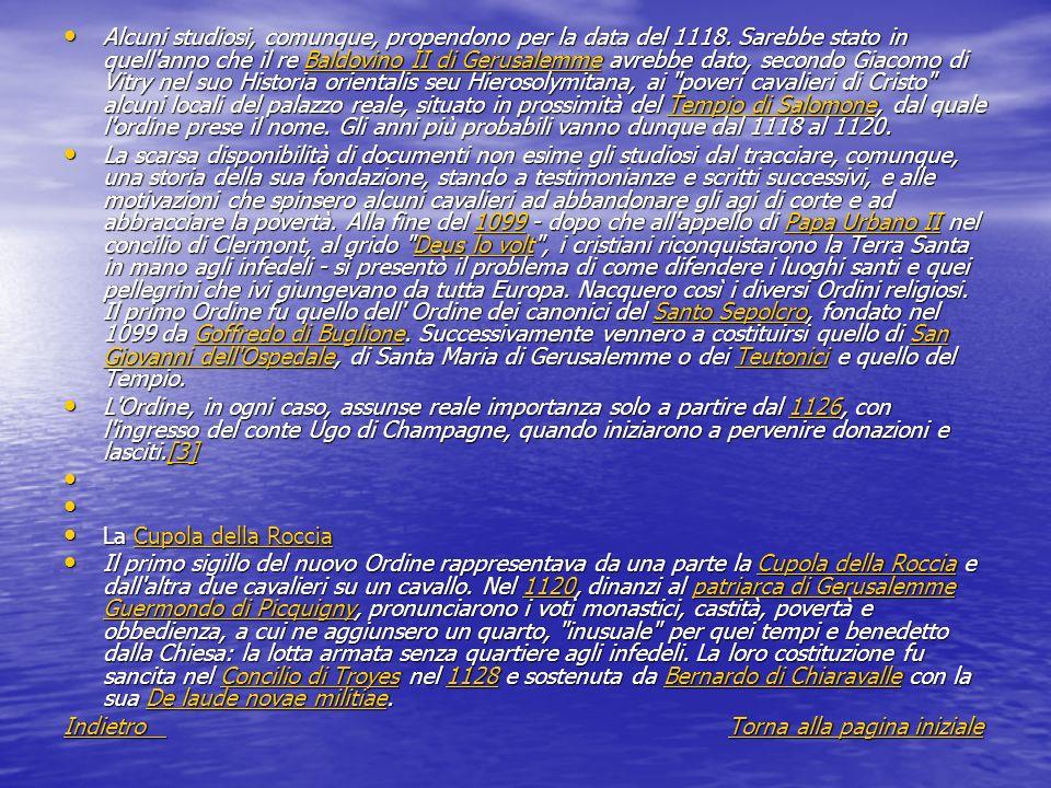 Crescita dellordine Da allora, per oltre due secoli, i Cavalieri templari, grazie anche ai concili loro favorevoli (Concilio Pisano, 1135 e Lateranense II, 1139), acquisirono - attraverso lasciti, donazioni e altre forme di liberalità laiche ed ecclesiastiche - terre, castelli, casali in quantità tali da farli diventare l Ordine più potente, dunque invidiato e temuto, dell epoca.