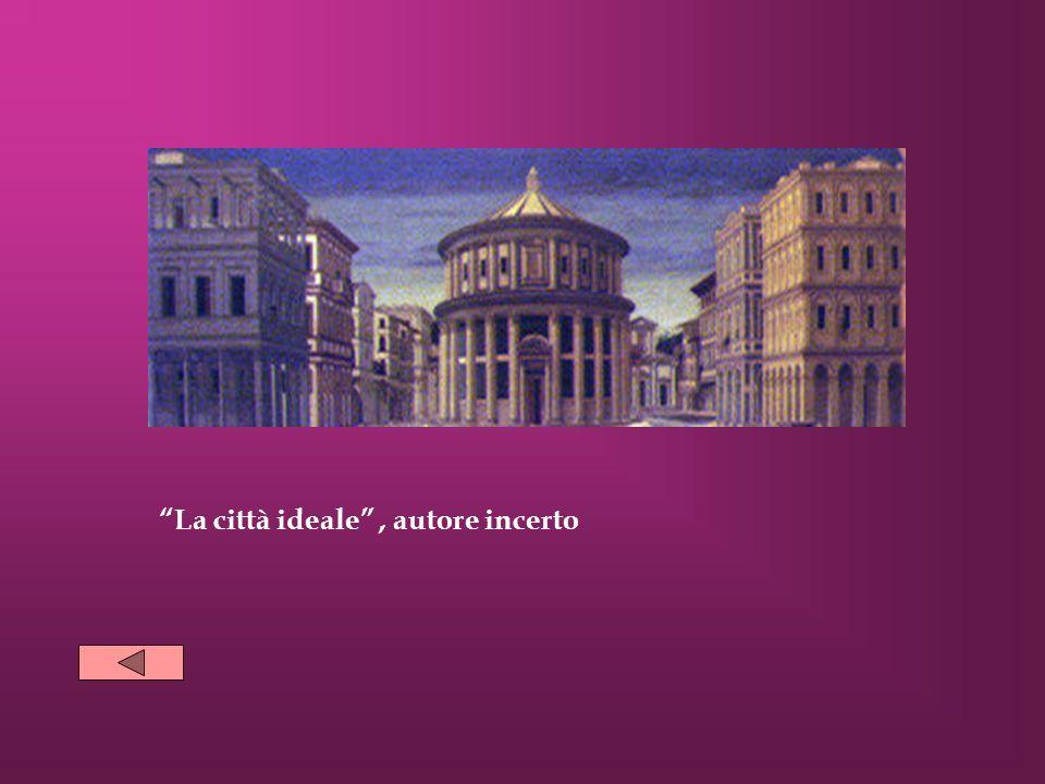 La città ideale, autore incerto
