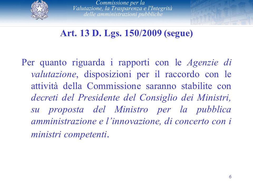 6 Art.13 D. Lgs.