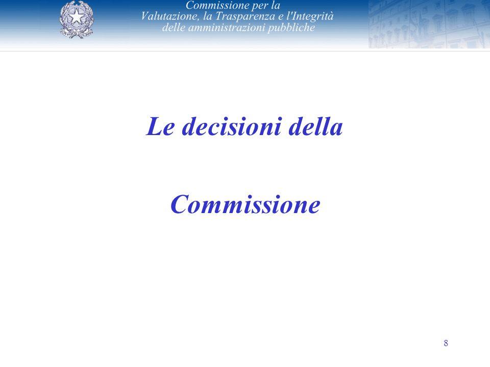 8 Le decisioni della Commissione