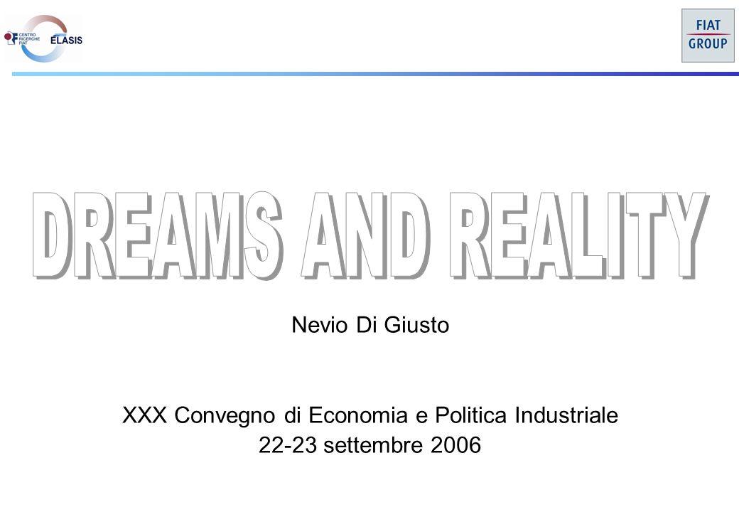 Nevio Di Giusto XXX Convegno di Economia e Politica Industriale 22-23 settembre 2006