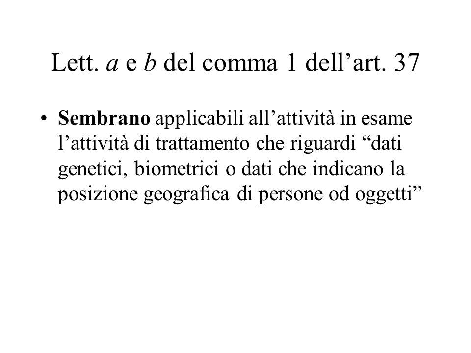 Art.26 Art.26 - Garanzie per i dati sensibili 1.