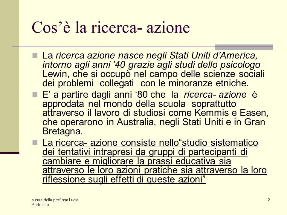 a cura della prof.ssa Lucia Portolano 13