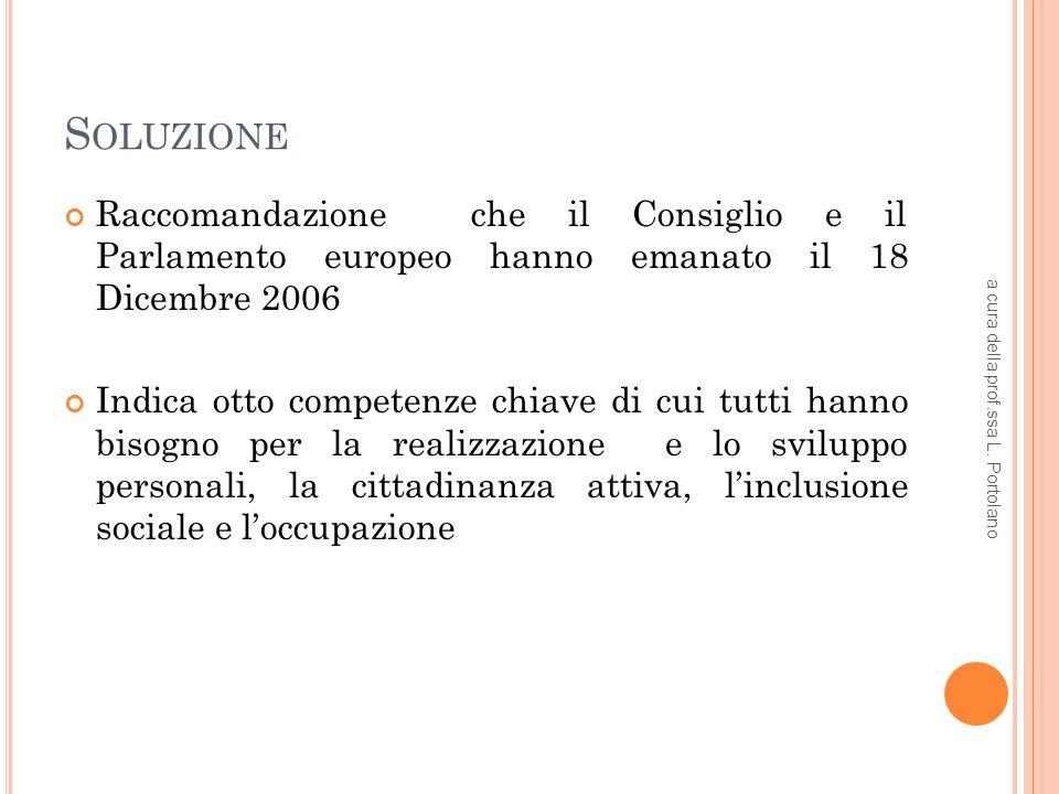 P ERCORSO NORMATIVO Art.34 della Costituzione: La scuola è aperta a tutti.