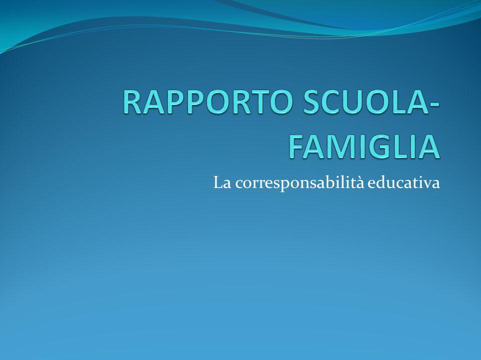 Oggi la famiglia Vede ridimensionato il ruolo di educatrice unica, assoluta, incontrastata dei giovani a cura della prof.ssa L.