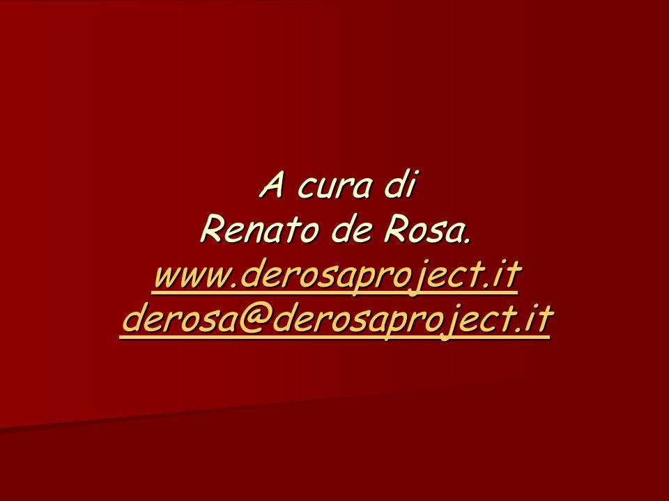 A cura di Renato de Rosa.