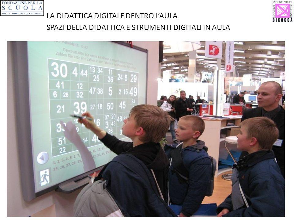 LA DIDATTICA DIGITALE DENTRO LAULA SPAZI DELLA DIDATTICA E STRUMENTI DIGITALI IN AULA