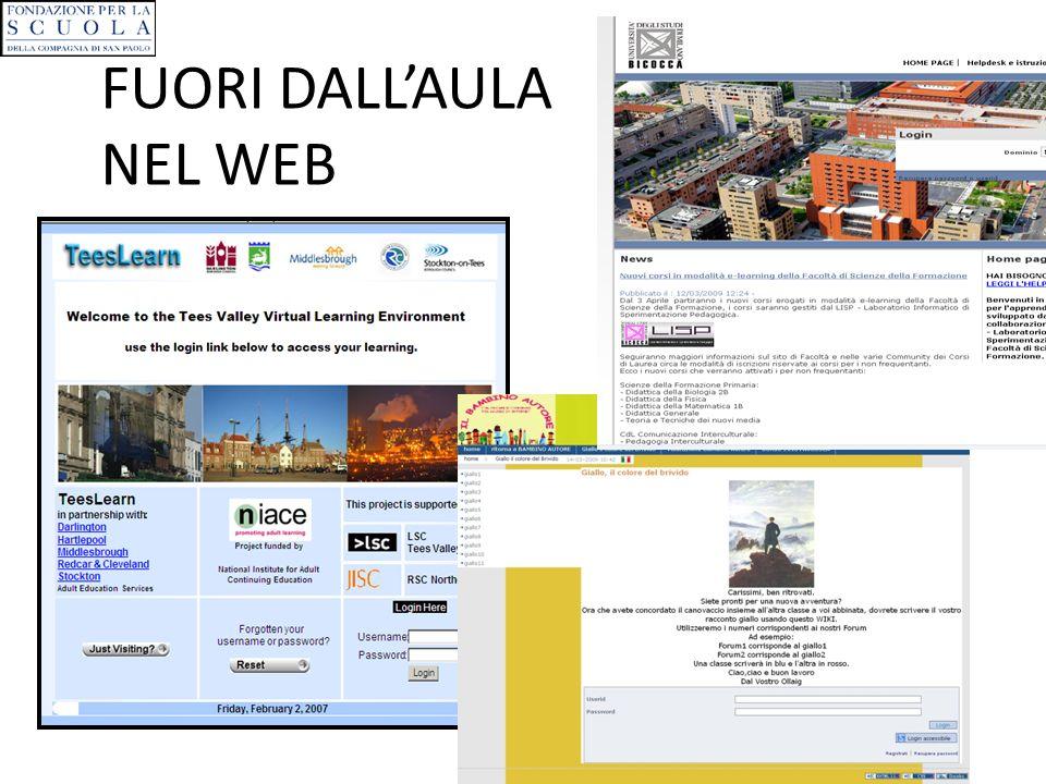 FUORI DALLAULA NEL WEB