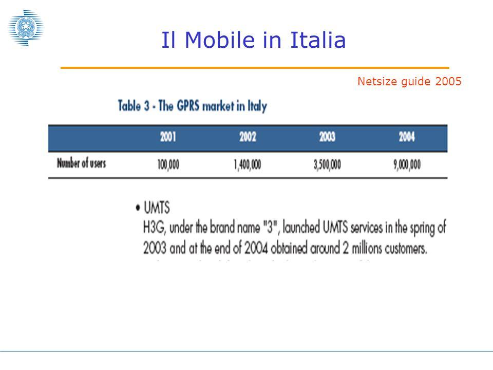 Il Mobile in Italia Netsize guide 2005
