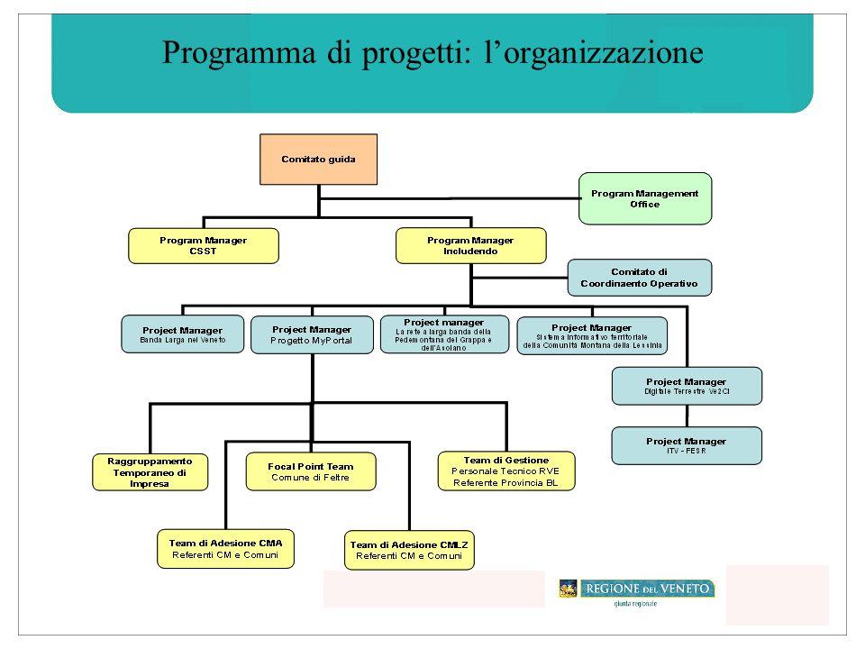 Programma di progetti: lorganizzazione