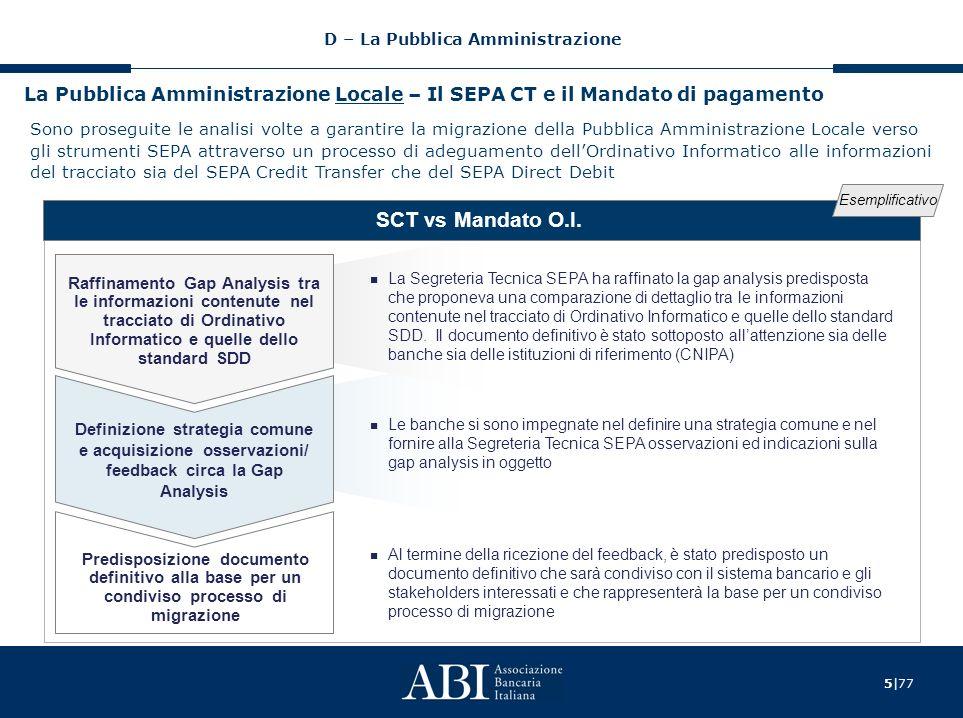 6 77 La Pubblica Amministrazione Locale - Il SEPA DD e la Reversale di incasso SDD vs Reversale O.I.