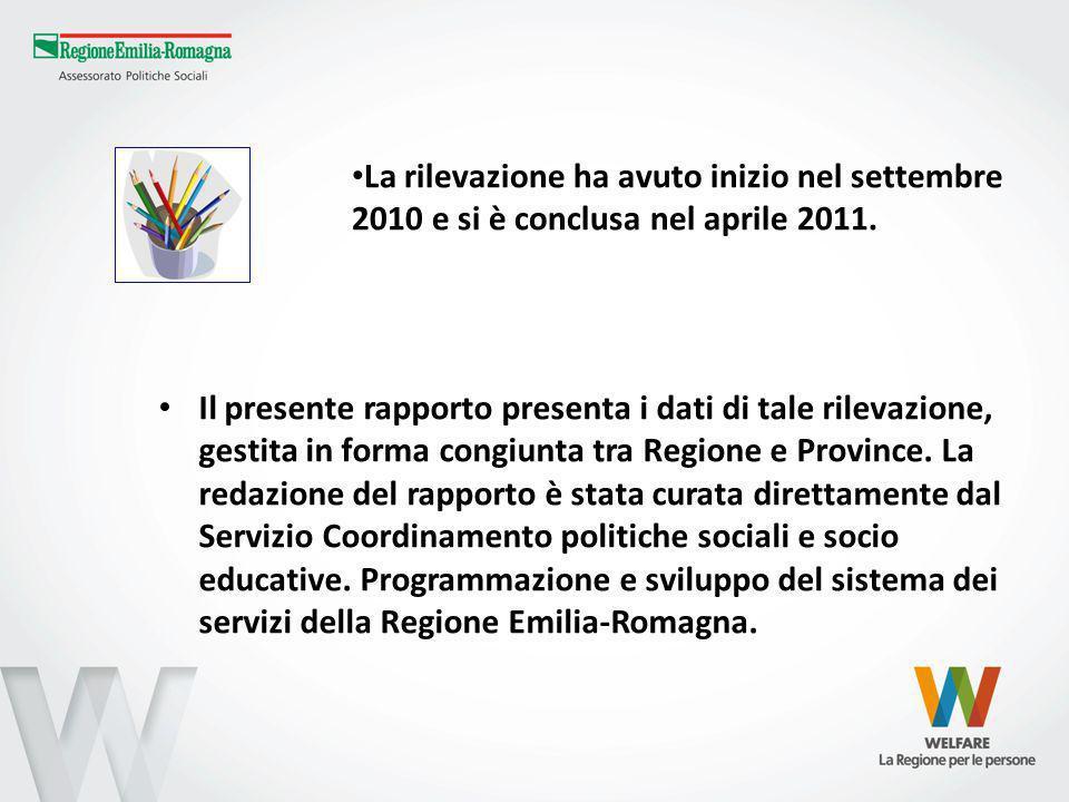Il presente rapporto presenta i dati di tale rilevazione, gestita in forma congiunta tra Regione e Province.