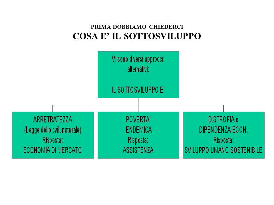 Definizione di ONG 1.Definizione Legale (Italia) Associazione o Fondazione che svolge attività di cooperazione allo sviluppo in favore delle popolazioni del terzo mondo senza perseguire finalità di lucro (Dlg 49/87 e DL Onlus 46/97) 1.Definizione Strutturale/Operativa A.