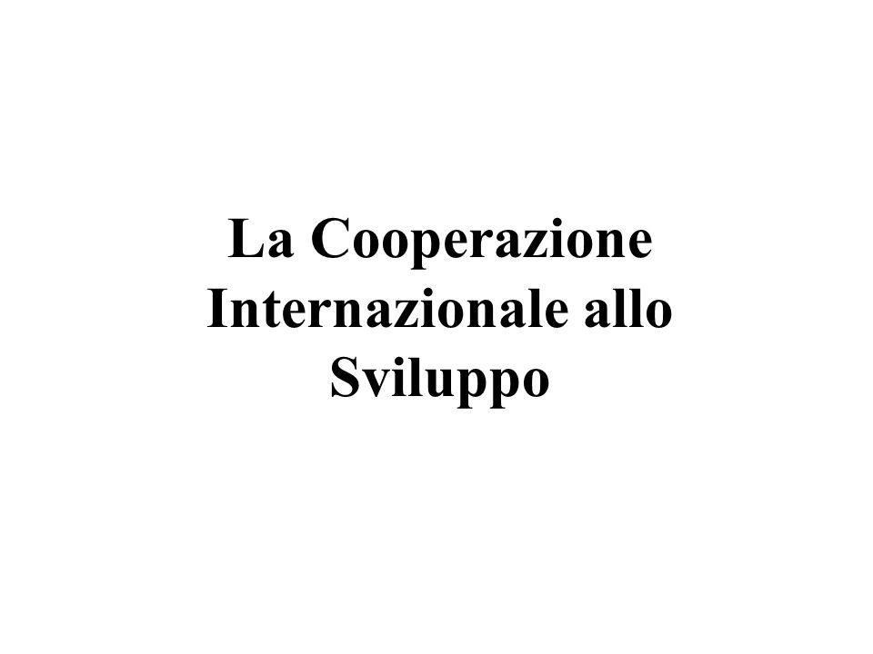 AREE DI INTERVENTO DELLE ONG MediterraneoPECOAltri PVS
