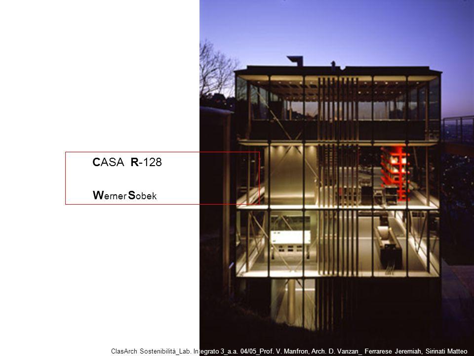 CASA R-128 ClasArch Sostenibilità_Lab.Integrato 3_a.a.