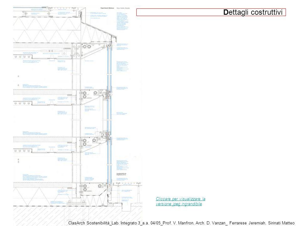 Cliccare per visualizzare la versione jpeg ingrandibile ClasArch Sostenibilità_Lab.