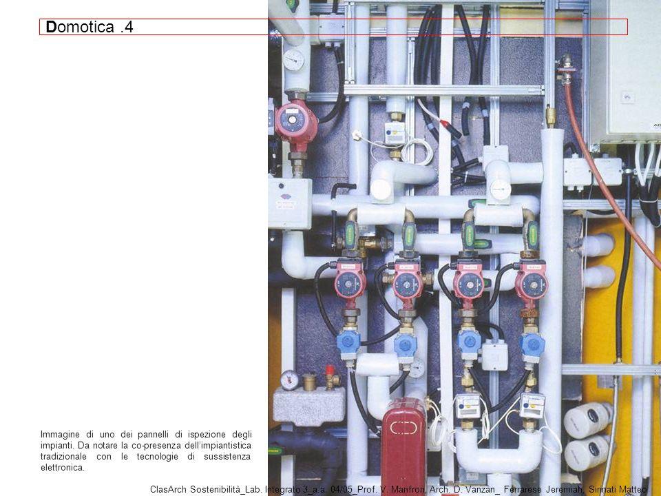 Immagine di uno dei pannelli di ispezione degli impianti.