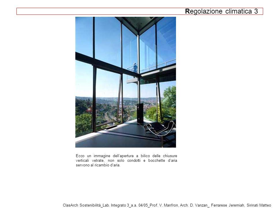 Ecco un immagine dellapertura a bilico delle chiusure verticali vetrate, non solo condotti e bocchette daria servono al ricambio daria.