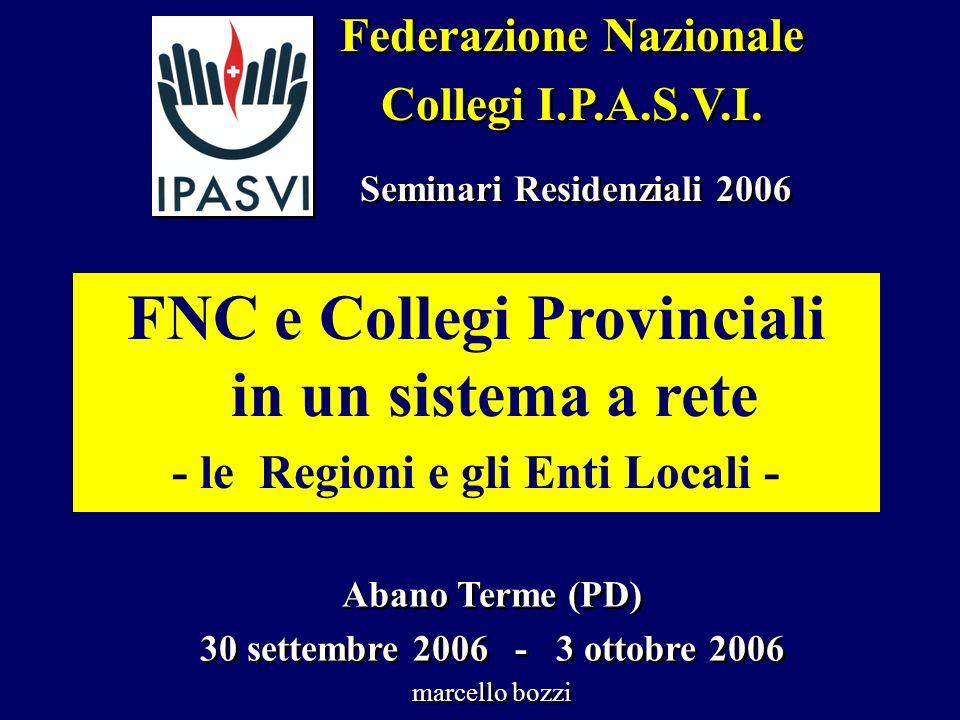Federazione Nazionale Collegi I.P.A.S.V.I. Federazione Nazionale Collegi I.P.A.S.V.I.