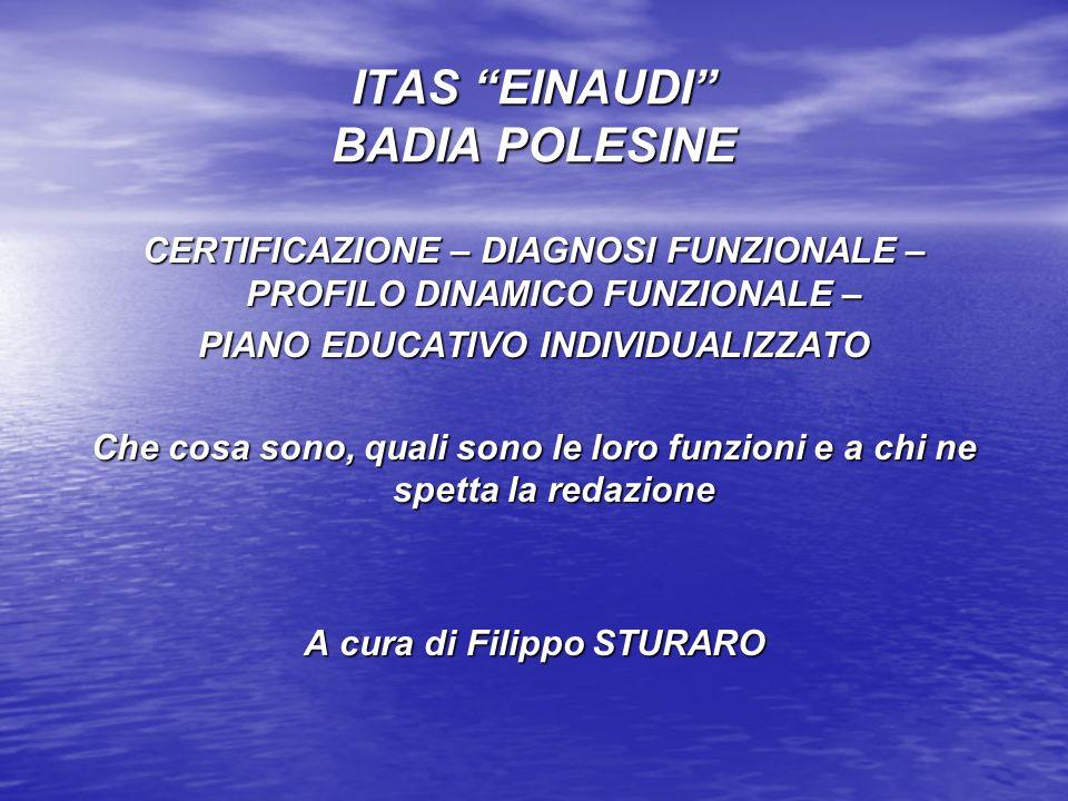 OBIETTIVI DI LAVORO 1.ATTO DI INDIRIZZO ALLE ASL del 1994 2.