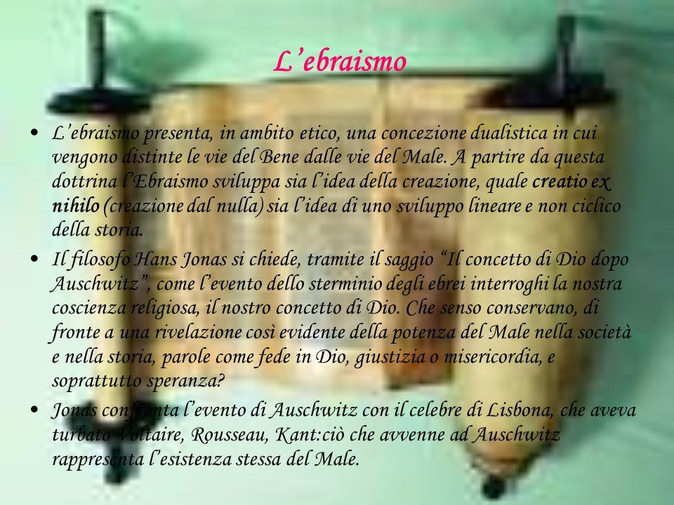 Lebraismo Lebraismo presenta, in ambito etico, una concezione dualistica in cui vengono distinte le vie del Bene dalle vie del Male.