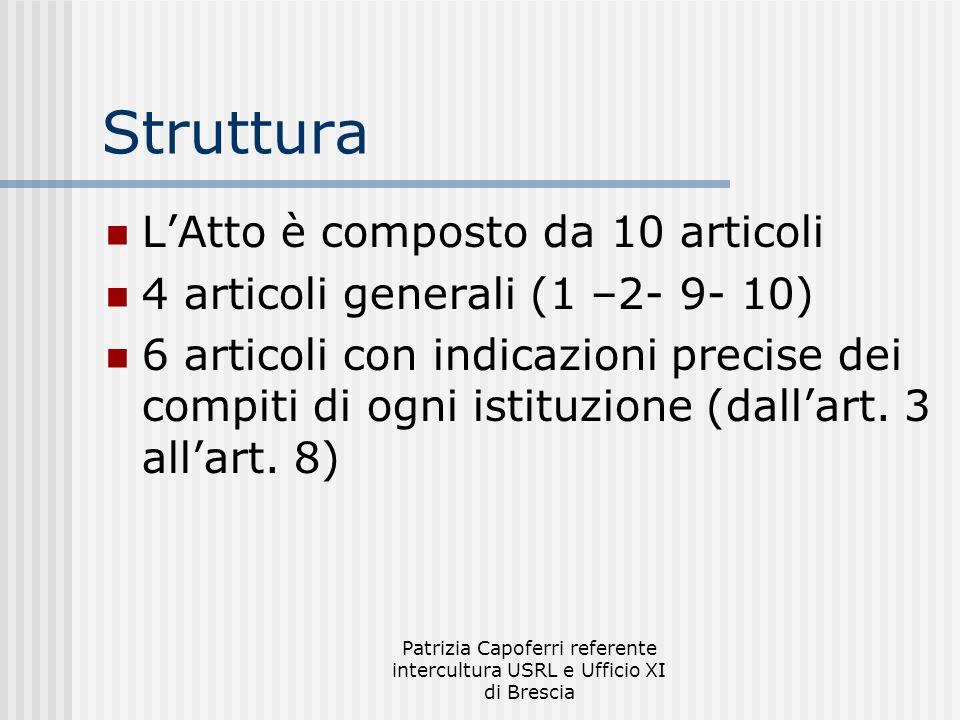 Patrizia Capoferri referente intercultura USRL e Ufficio XI di Brescia Novità inserite nel modulo preiscrizione Codice fiscale Data arrivo in Italia