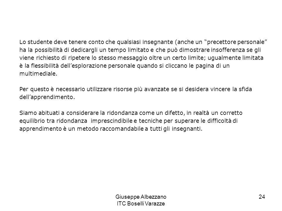 Giuseppe Albezzano ITC Boselli Varazze 25 FINE