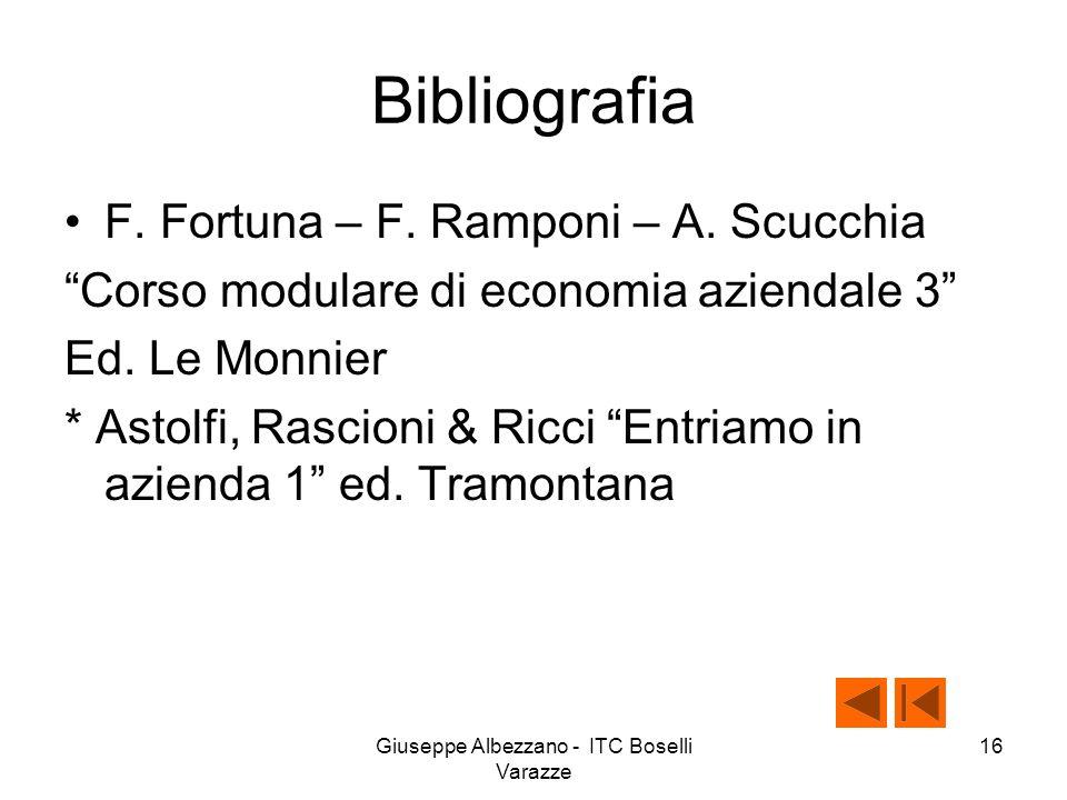 Giuseppe Albezzano - ITC Boselli Varazze 15 E adesso a studiare!!!