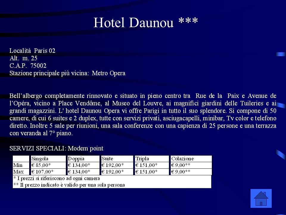 Hotel Daunou ***