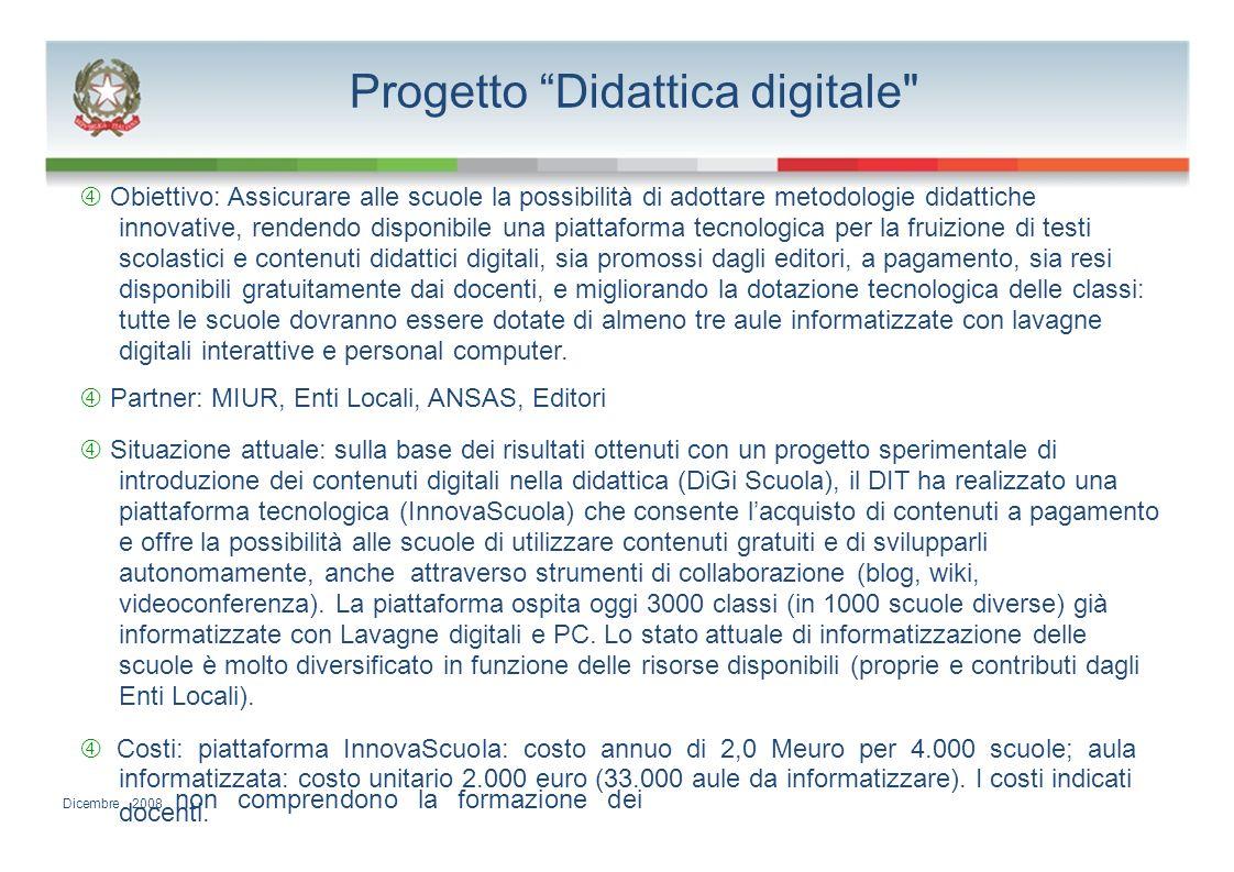 Progetto Didattica digitale