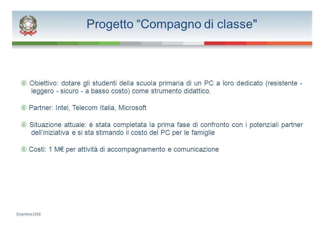 Progetto Compagno di classe